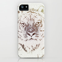 The Intellectual Tiger iPhone & iPod Case by Paula Belle Flores