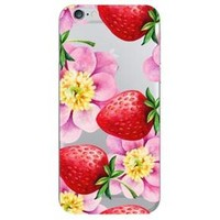 iPhone 6/6S/7/8 Case Strawberry Flowers - OTM Essentials