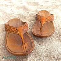 light brown shaka™ - pali hawaii thongs