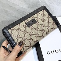 GUCCI New fashion more letter leather wallet purse handbag women