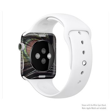 The Dark Peacock Spread Full-Body Skin Set for the Apple Watch