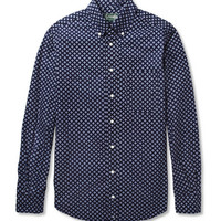 Gitman Vintage - Printed Cotton Shirt | MR PORTER