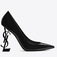 YSL Yves Saint Laurent Hot Sale Women Fashion Pointed High Heels Shoes Sandals 1#-1