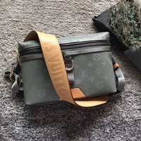 Louis Vuitton LV Monogram Titanium Messenger PM