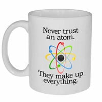 Never Trust an Atom Coffee or Tea Mug