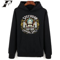 Rick and morty hoodies for Women baseball couples sweatshirts New Fashion Brand Streetwear hoodies Rick and morty