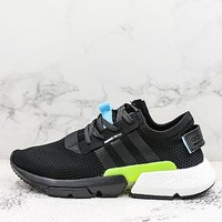 Adidas P.o.d. S3.1 Black/core Black-white Running Shoes - Best Deal Online