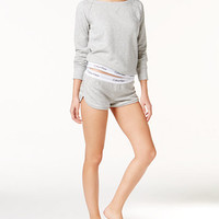 Calvin Klein Modern Cotton Lounge Top & Shorts | macys.com