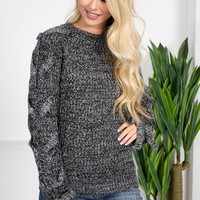 Dolly Black Knit Sweater
