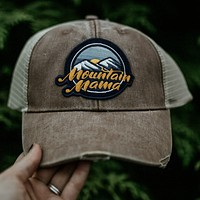Mountain Mama Patch Hat