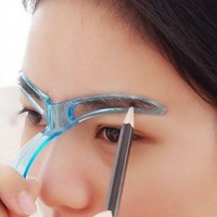 DIY Professional Eyebrow Shaper Stencils Template Stereo Stencil Shaping Eye Brow Grooming 1pcs Makeup Tool