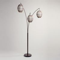 Tiki Arc Spheres Floor Lamp - World Market