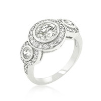 Fitzgerald Cubic Zirconia Ring, size : 09