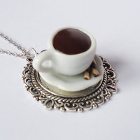 COFFEE TIME - necklace
