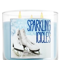 14.5 oz. 3-Wick Candle Sparkling Icicles