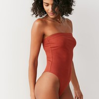 Out From Under MJ Tube Top Bodysuit   Urban Outfitters