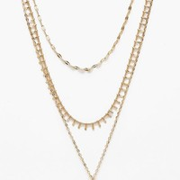 Plus Holly Moon Layered Choker Necklace   Boohoo