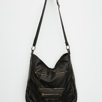T-Shirt & Jeans Zoey Zipper Tote Bag Black One Size For Women 25983410001