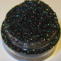 20% OFF SALE Andromeda Galactic Collection Galaxy Green Copper Black Glitter Eyeshadow Mica Pigment 5 Grams Lumikki Cosmetics