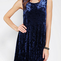 MINKPINK Seeing The Ex Velvet Babydoll Dress - Urban Outfitters