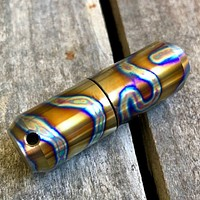 Exo Runt Titanium Lighter and Pill Fob
