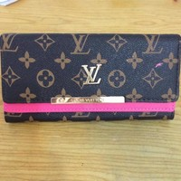 LOUIS VUITTON LEATHER WALLETS WOMEN'S PURSES