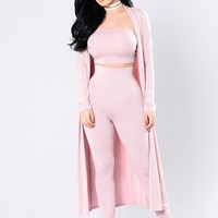 Come Get It Bae Cardigan - Pink