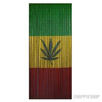 Bamboo Pot Leaf Door Beads on Sale for $39.99 at HippieShop.com