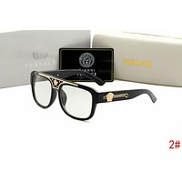 "Hot Sale ""Versace"" Popular Women Men Summer Shades Eyeglasses Glasses Sunglasses Black 2# I12937-1"