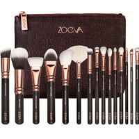 Beginne Pre-se COMPLETE MAKEUP BRUSH SET Professional Luxury Set Make Up Tools Kit ZOEVA 15 PCS ROSE Powder Blending brushes