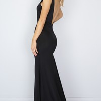 Slow Dance maxi dress in black Produced By SHOWPO