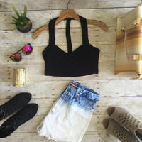 Summer Night Out Top-Black