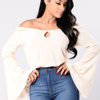 Don't Change Me Top - Ivory