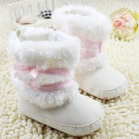 Baby Shoes Soft Toddler Fleece