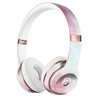 Pink 922 Absorbed Watercolor Texture Full-Body Skin Kit for the Beats by Dre Solo 3 Wireless Headphones