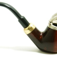 Smoke Pipe - Old Army No 21 - Pear Wood Root - Hand Made