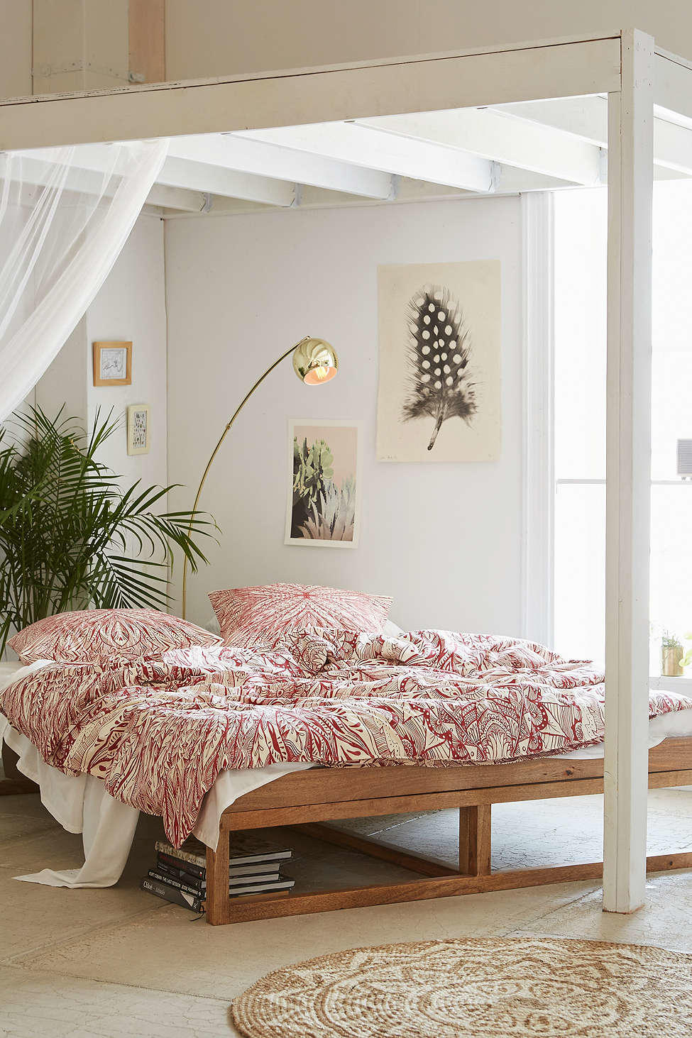 Morey Platform Bed Urban Outfitters From Urban Outfitters