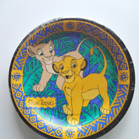 Vintage The Lion King NEW Party Plates 1994