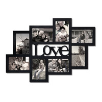 Love 8 Opening Collage Picture Frame