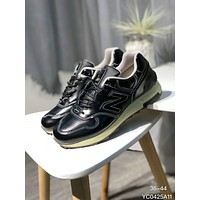 New Balance Trending Stylish Unisex Leisure Running Sport Sneakers Couple Shoes Pure Black I-A0-HXYDXPF