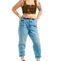 Vintage 90's Frankie Says Relaxed Fit Mom Jeans - L
