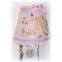 Ivory Lace Teapot Nightlight - Limited Supply!