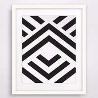 HOT Canvas Painting Aztec Art Chevron Wall Art,Geometric Prints Wall Picture Canvas Art Poster Canvas Art Home Decor No Frame