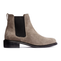 H&M Suede Chelsea Boots $69.99