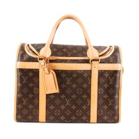 Louis Vuitton Leather Dog Carrier