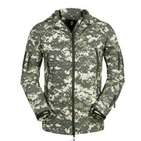 Tactical Military-Style Jacket and Pants