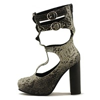 Jeffrey Campbell Drink Me High Heels