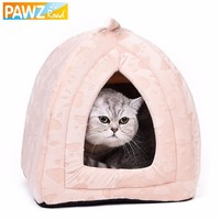 Cat Bed Small Dog House Summer Soft Puppy Kennel Lovely Kitten Mats Pet Goods for Pet Home Cute Animal House
