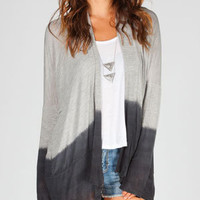 FULL TILT Essential Womens Ombre Wrap Sweater