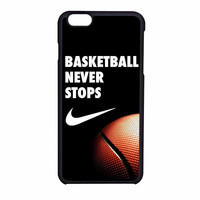 Nike Basketball Never Stops iPhone 6 Case